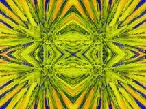 Abstrait peint coloré Photo stock