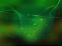 Abstrait refroidissez les ondes Photo stock