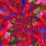 Abstrait rouge et bleu illustration de vecteur