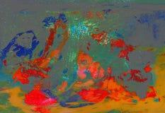 Abstrait sur la glace Image libre de droits