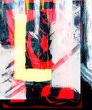 Abstrait sur la toile images stock