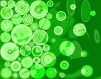 Abstrait vert Images stock