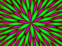 Abstrait vert hypnotique Photos stock