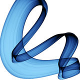 abstrakci błękit Zdjęcie Royalty Free