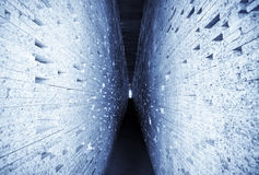 abstrakci brickwall Zdjęcia Royalty Free