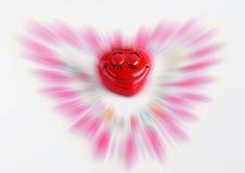 abstrakci dzieciaka s valentine Zdjęcie Royalty Free