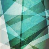 Abstrakci grunge retro trójboki wektorowi Obrazy Royalty Free
