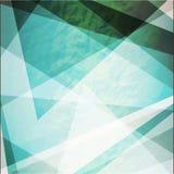 Abstrakci grunge retro trójboki wektorowi Zdjęcie Royalty Free