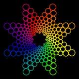 abstrakcj abstrakcje barwią ostateczne nowożytne serie Fotografia Stock