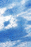 abstrakcj piękna kropli wody Zdjęcia Royalty Free