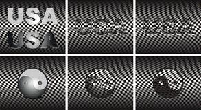 abstrakcj tła klatek usa Yang yin Fotografia Royalty Free