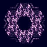 abstrakcja geometryczna Obrazy Stock