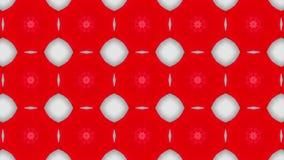 Abstrakcja kalejdoskopu rudopomara?czowa animacja 3 d czyni? ilustracji