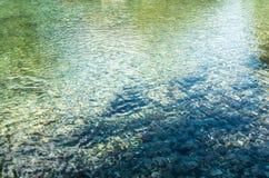 Abstrakcja wiosny woda Zdjęcie Royalty Free