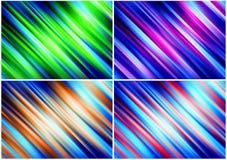 abstrakcje barwią paczkę Obrazy Stock