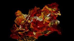 Abstrakcji substancji bez przeszkód ruchy Czarny tło ilustracji