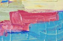 abstrakcjonistyczna łódź Fotografia Royalty Free