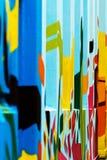 abstrakcjonistyczna ściana Obraz Stock