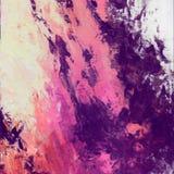 Abstrakcjonistyczna acrilyc grafika Akrylowe fala Obraz Royalty Free