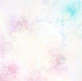 Abstrakcjonistyczna akrylowa i akwarela farba Obrazy Royalty Free