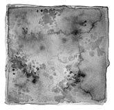 Abstrakcjonistyczna akrylowa i akwarela malująca rama Tekstury papierowy bac Obraz Royalty Free