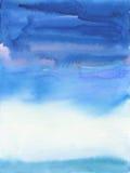 Abstrakcjonistyczna akwarela i akrylowy malujący tło Fotografia Royalty Free