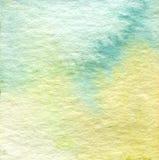 Abstrakcjonistyczna akwarela malujący tło Zdjęcie Royalty Free