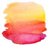 Abstrakcjonistyczna akwarela malujący tło Obraz Royalty Free