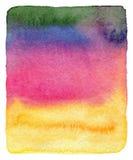 Abstrakcjonistyczna akwarela malujący tło. Zdjęcia Stock
