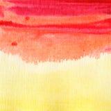 Abstrakcjonistyczna akwarela malujący tło. Fotografia Royalty Free