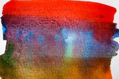 Abstrakcjonistyczna akwarela malujący tekstury tło ilustracji