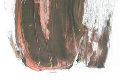 abstrakcjonistyczna akwarela na białym tle obrazy stock