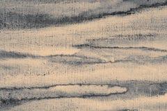 Abstrakcjonistyczna akwarela na papierowej teksturze jako tło W Sepiowej tonie Fotografia Stock