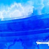 Abstrakcjonistyczna akwareli paleta folwarczka kolor, royalty ilustracja