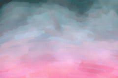 Abstrakcjonistyczna akwareli tekstura Fotografia Royalty Free