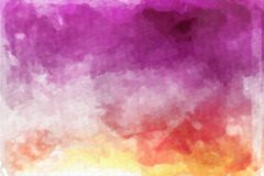 Abstrakcjonistyczna akwareli tekstura Fotografia Stock