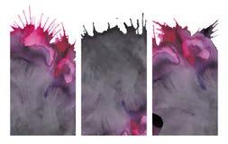 Abstrakcjonistyczna akwareli tekstura ilustracja wektor