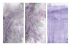 Abstrakcjonistyczna akwareli tekstura royalty ilustracja