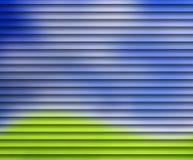 abstrakcjonistyczna żaluzja Fotografia Stock