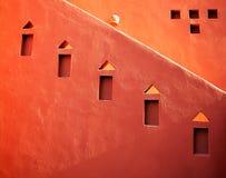 abstrakcjonistyczna architektura Fotografia Stock