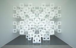 Abstrakcjonistyczna architektura Zdjęcie Stock