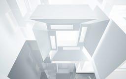 abstrakcjonistyczna architektura Zdjęcia Royalty Free