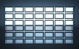 abstrakcjonistyczna architektura Obraz Royalty Free