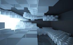 abstrakcjonistyczna architektura Zdjęcia Stock