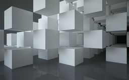 abstrakcjonistyczna architektura Obrazy Stock