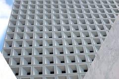 Abstrakcjonistyczna architektura - fasada nowoczesna architektura abstrakcyjna obraz stock