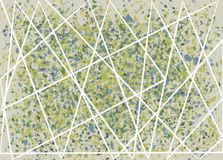 Abstrakcjonistyczna artystyczna akwarela Zdjęcie Royalty Free