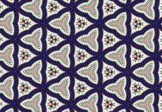 Abstrakcjonistyczna błękita bloku wzoru tapeta Fotografia Stock