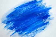 Abstrakcjonistyczna błękitna akwarela dla tła Zdjęcie Royalty Free