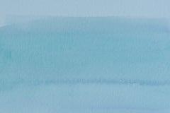 Abstrakcjonistyczna błękitna farba dla tła Obraz Stock